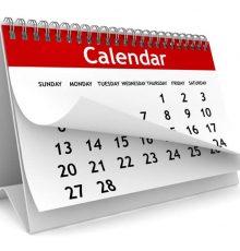 Alterações no horário de atendimento em dezembro/2017 e janeiro/2018