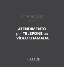 Atendimento por telefone ou vídeochamada