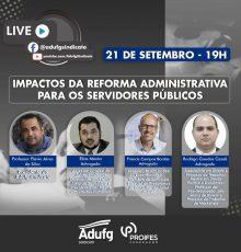 LIVE: Impactos da Reforma Administrativa para os Servidores Públicos